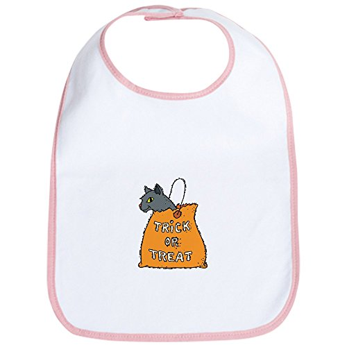 CafePress - Halloween Cat Bib - Cute Cloth Baby Bib, Toddler Bib -