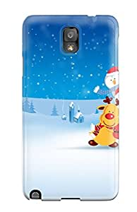 Garrison Kurland's Shop Galaxy Cover Case - 2011 Merry Chirstmas Protective Case Compatibel With Galaxy Note 3