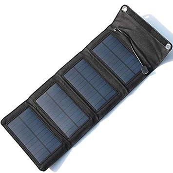 Cargador Solar portátil del Panel Solar del Cargador 5V 7W ...