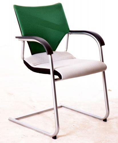 wilkhan - Silla verde/gris, usadas Oficina Muebles: Amazon ...