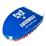 Hard Wave Brush For Wolfing | Curved Wolfing Brush By Wrightling (Royal Blue)