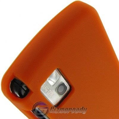 Orange Silicone Skin Cover for LG Vu Cu920 and Cu915 AT&T Protector Case