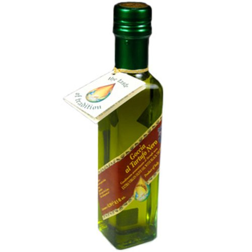 Goccia Italian Back Truffle Oil, 8.5-Ounce Bottles (Pack of 3)