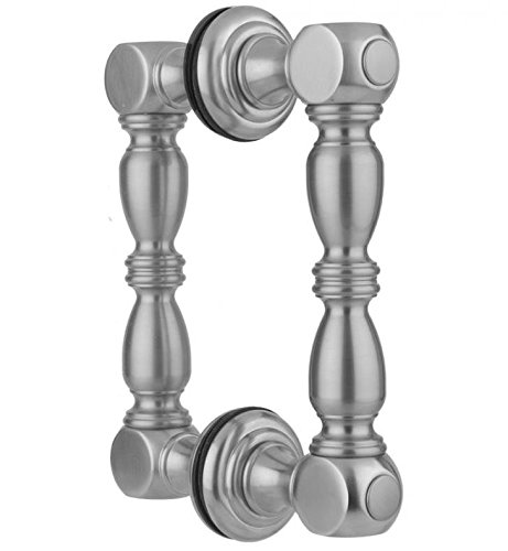 Jaclo H21-BB-PEW Pewter Rd B2B Door Pull with Finials 6 Standard Plumbing Supply