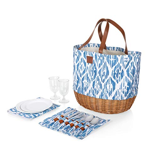 PICNIC TIME Promenade Picnic Basket, Morrocan Watercolor from PICNIC TIME