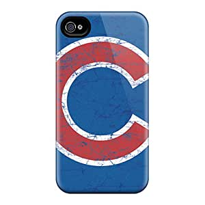 Premium YIIdQFP942hWdLk Case With Scratch-resistant/ Chicago Cubs Case Cover For Iphone 4/4s