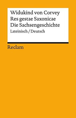 Res Gestae Saxonicae   Die Sachsengeschichte  Lateinisch Deutsch