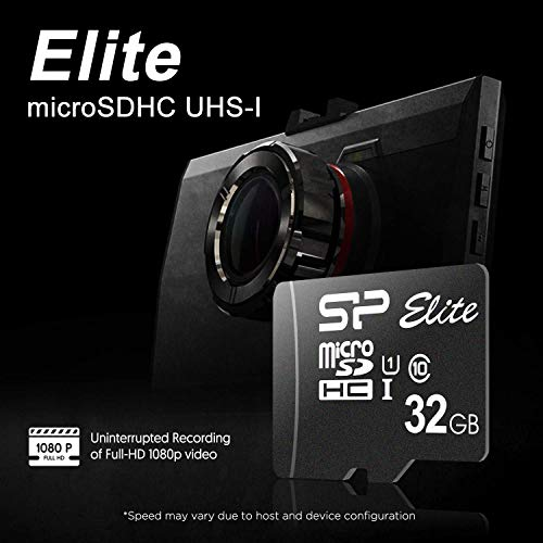 Silicon Power Elite 32GB 2-Pack MicroSD Card with Adapter