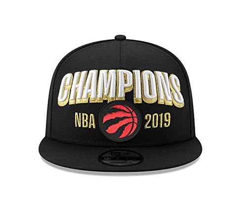 New Era The Raptors 2019 NBA Champions Cap TorontoRaptors Snapback Hat Adjustable Black Unisex
