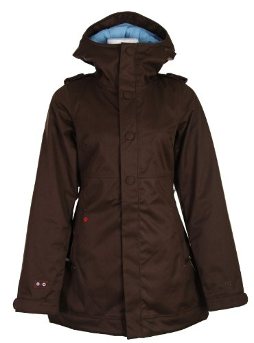 Burton TWC Weekend Snowboard Jacket Mocha Womens Sz (The House Snowboard Jackets)