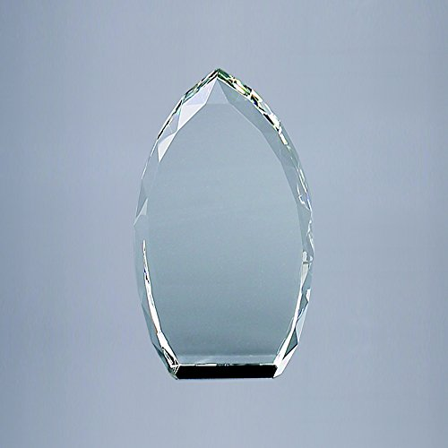 Optic Glass Trophy - Optic Glass Trophy Point in Clear Color (4.25 in. L x 1.5 in. W x 7 in. H)