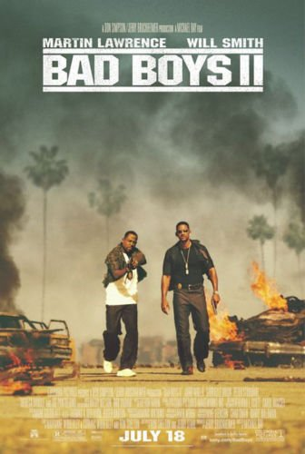 - Twenty-three 24X36 Inchcanvas poster-Bad Boys 2 - Movie Poster Spray Painting (Regular Style)