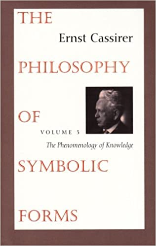 The Philosophy Of Symbolic Forms Vol 3 The Phenomenology Of