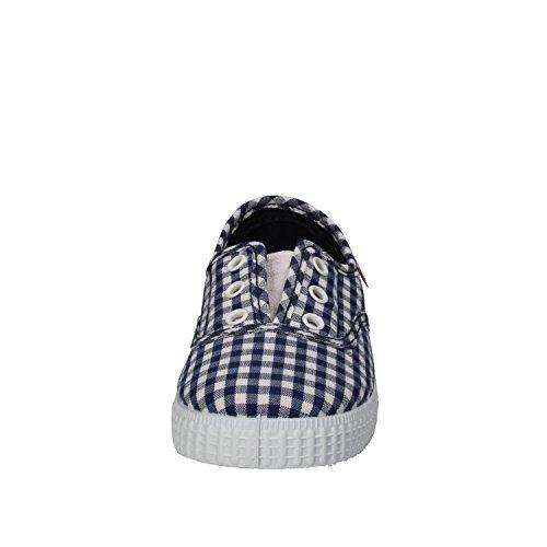 CIENTA Sneakers Junge Textile (22 EU, Blau / Weiß)