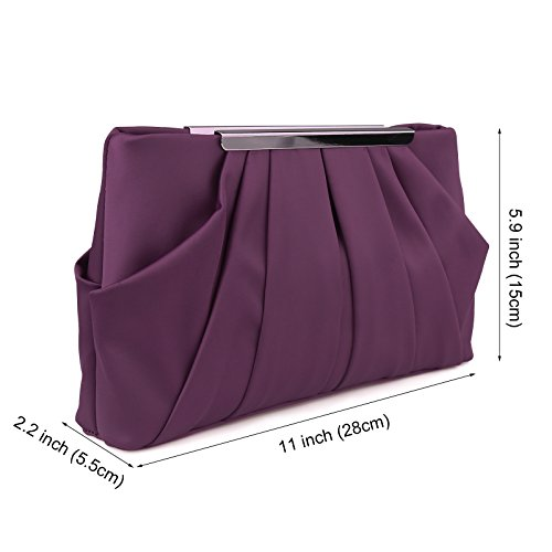 Buy purple evening handbags