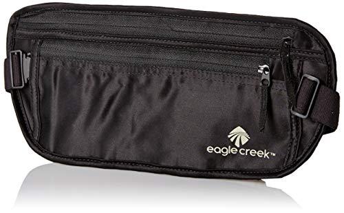 41kLYa%2BDDJL - Eagle Creek Silk Undercover Travel Money Belt, Black