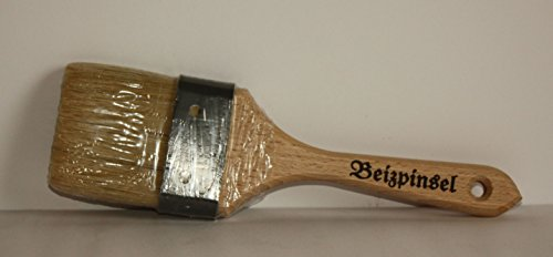 Beizpinsel 7 cm, helle Chinaborste