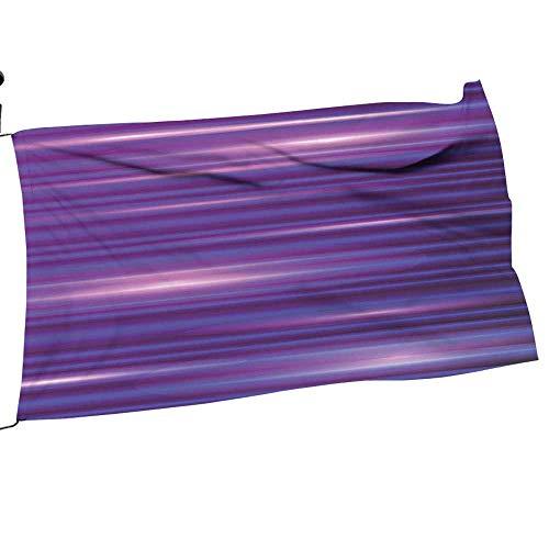 Garden Flag Accessories Horiz tal L Modern M imalist 70s spired Magenta Purple White Sweet Home Garden Flag 26