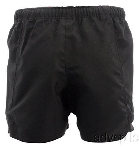 Canterbury Advantage Rugby Shorts, Black, X-Large (Canterbury Womens Rugby)