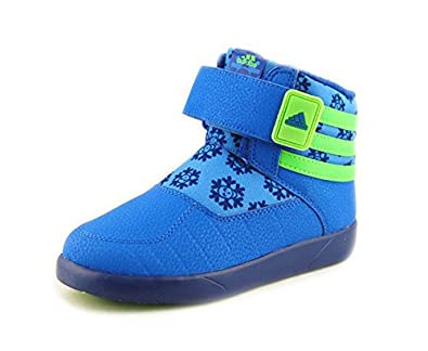 873904262390 adidas Kid s adiFIT Zambat 2 Blue blue non marking winter boots G96033 35   Amazon.co.uk  Shoes   Bags