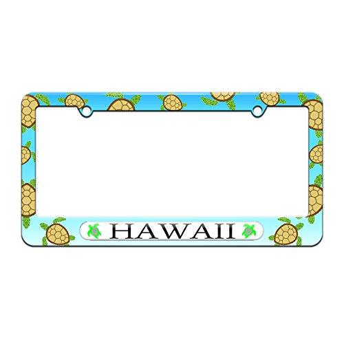 Hawaii Love Turtle Hibiscus License