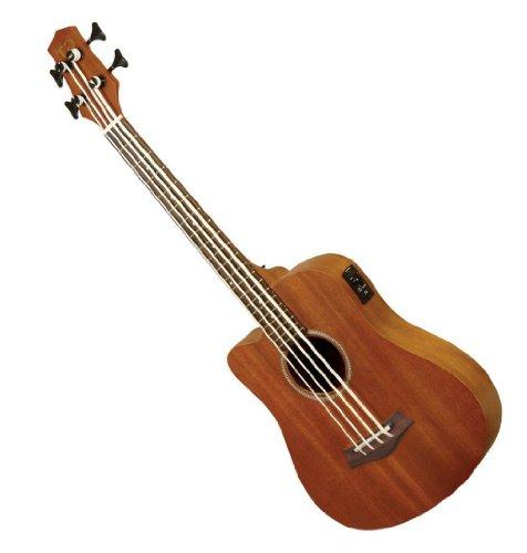 (Gold Tone Left Hand Micro Fretless Bass Guitar w/ Gig)