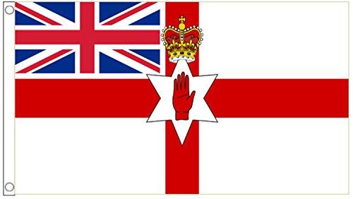 Northern Ireland Loyalist Flag 5'x3' (150cm x 90cm) - Woven Polyester