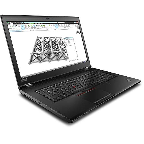 "Lenovo ThinkPad P73 Workstation Laptop (Intel i7-9750H 6-Core, 32GB RAM, 256GB m.2 SATA SSD + 1TB HDD, Quadro P620, 17.3"" Full HD (1920x1080), Fingerprint, 3xUSB 3.1, Win 10 Pro) with USB3.0 Hub"