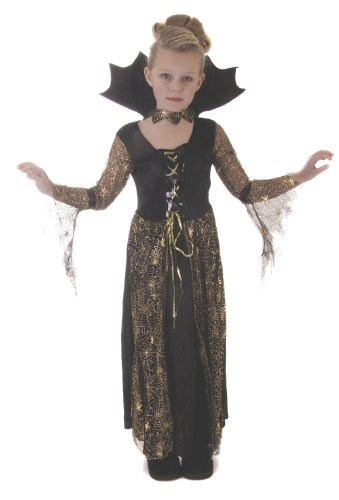 Halloween Spiderella Girls Fancy Dress Costume Ages 10-11 Years -