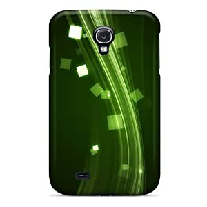 Hot KOjNzRX1227GuwJe Case Cover Protector For Galaxy S4- Electrify Green