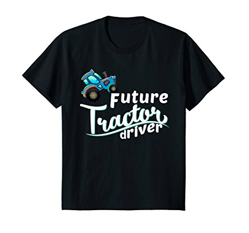 Price comparison product image Kids Future Tractor Driver Baby Cute Child Inspiration T-Shirt