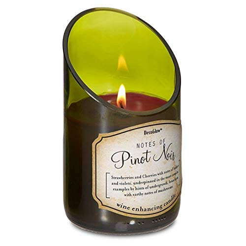 (Home Locomotion Wine Bottle Pinot Noir Scented Candle for Home, House, Decor, Bathroom, Kitchen, Relaxing and More)