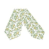 Oreayn Olive Table Runner 70 inch Green Weddings Parties Kitchen Table Dressers Living Room End Tables, Decorative Olive Leaf Table Cloth Runner Dining Outdoor Dinner Coffee Table