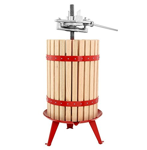 TSM Products 30-Liter Harvest Fruit and Wine Press, With Ratchet Handle by TSM Products
