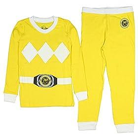 - 41kLbweVYuL - Kids Mighty Morphin Power Rangers Costume Pajama Set