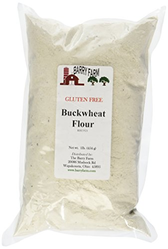 Whole Wheat Pastry Flour Muffins - Buckwheat Flour, GF, 1 lb. by Barry Farm