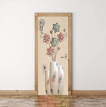 Libby Nice Lotus En Trois Dimensions Créative Décoration Chambre Salon Peut  Déplacer Le Bâton De