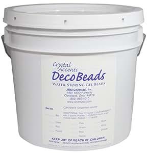 Deco Beads DB-C05 Clear 5-Pound Pail