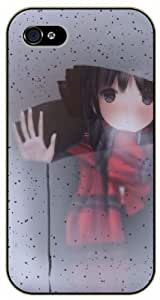 Surelock iPhone 5 / 5s Girl behind the window - black plastic case, hot girl, girls