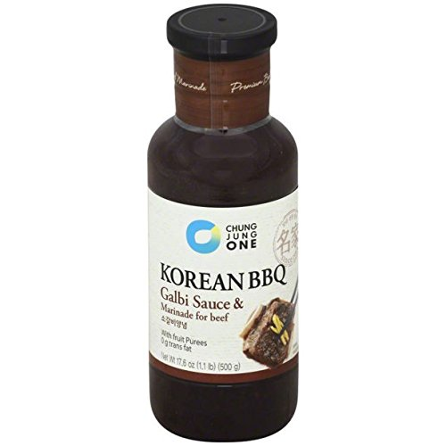 Chung Jung One Korean Galbi Sauce & Marinade for Beef with F
