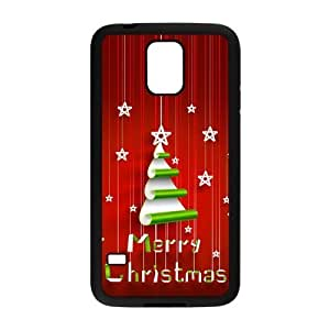 Merry Christmas TPU Case Protective Skin for SamSung Galaxy S5-NC5216 by icecream design
