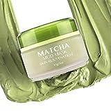 MATCHA Green Tea Facial Mud Mask, Organic Jiangsu Green Tea Matcha Face Mask