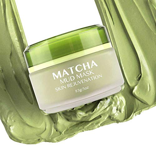 MATCHA Green Tea Face Mask | Ancient Secret to Beautiful Skin | Best Organic Jiangsu Green Tea Mask | Anti Aging Pore Cleaner Moisturizing Mud Mask | Clay Mask | Detox Tea Cleanse | Charcoal Cleanser ()