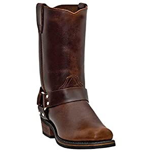 Dingo DI19056 Men's Mahogany Dean Harness Motorcycle Boots Size 9 W