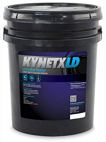 (Kynetx Calcium Grease, LD Low Temp, 35 Lb. Pail, CAN2053000-KN5012, Light Duty Rust Protection, Anti-Wear, Extreme Pressure, Low Temperature Pump Ability. Automotive Grease, ISO VG)
