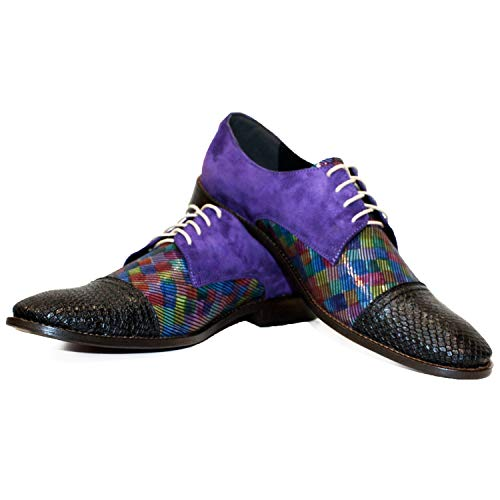 a Osklivello mano Shoes uomo per In pelle Peppeshoes Lacer fatta Soft Colorful Modello italiana Oxford Cowhide w5f0qpxY7
