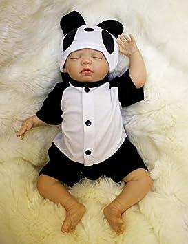 ZIYIUI Doll Pulgadas Lifelike Reborn Bebé Muñecas Vinilo de Silicona Realista Hecho a Mano Bebés para Niñas Juguetes Reborn Baby Dolls 55cm, ...