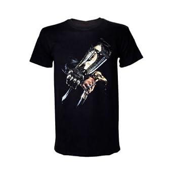 Assassins Creed VI - Black (T-Shirt Unisex Tg. XL): Amazon ...
