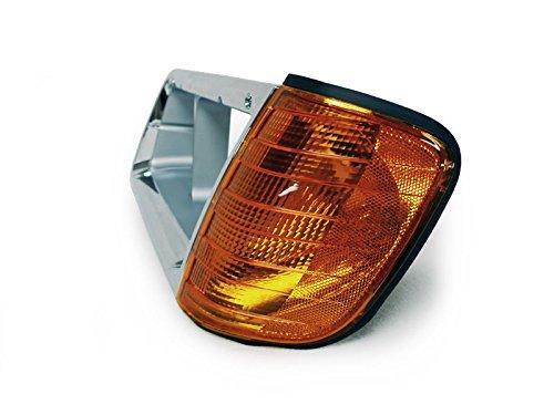 CPW (tm) 89-02 Freightliner FLD Left Hand Driver Chrome Headlight Bezel Trim and Corner Light Lamp