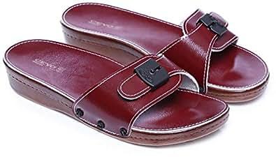 Ceyo Red Slides Slipper For Girls